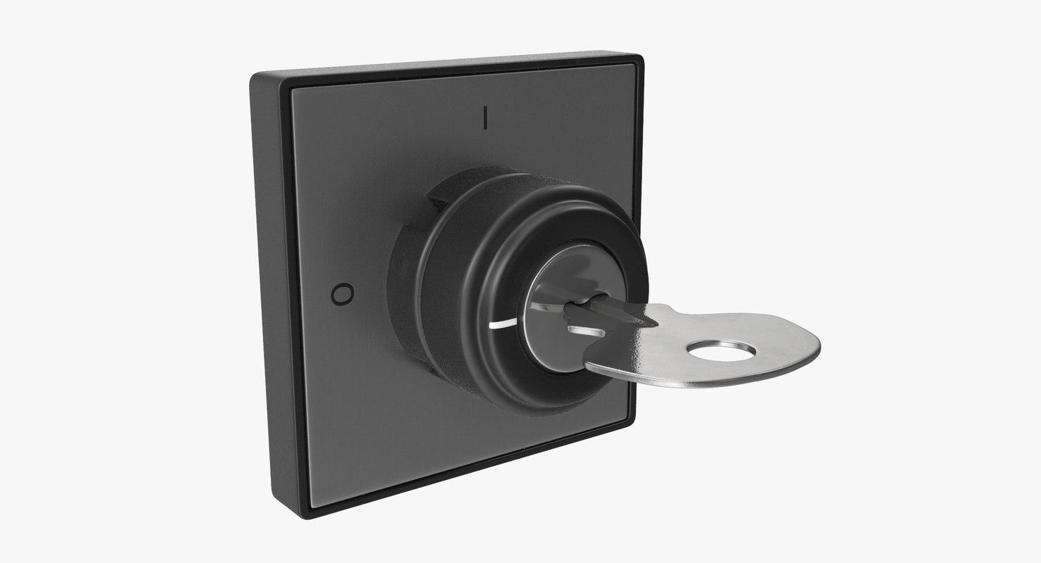3D model knob 01 14