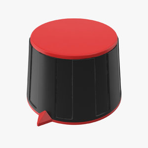 knob 02 01 3D model