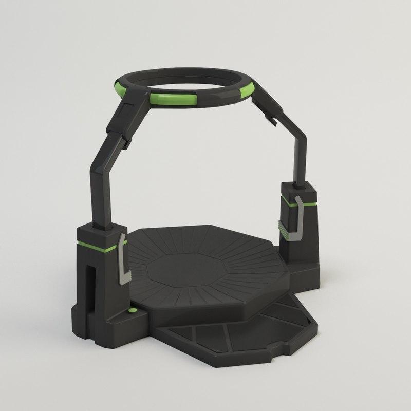 omni vr 3D model