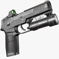 SIG Sauer P320 AAA Game Weapon