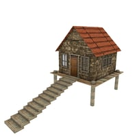 Small Platform House