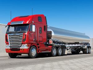 3D freightliner tank tanker model