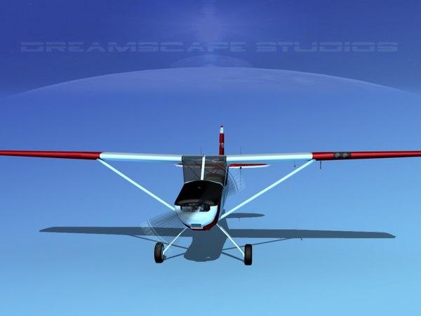 propeller cessna o-1e cap 3D