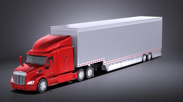 truck 2017 579 3D model