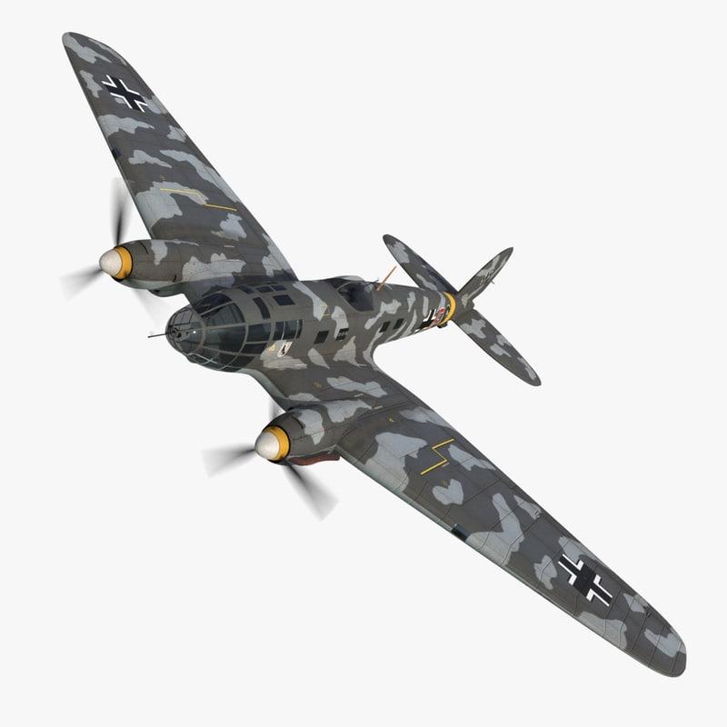 heinkel 111 bomber model