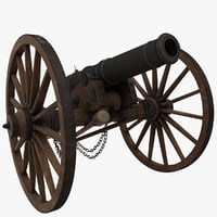 6 Pound Field Cannon