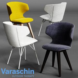 3D varaschin kloe chair