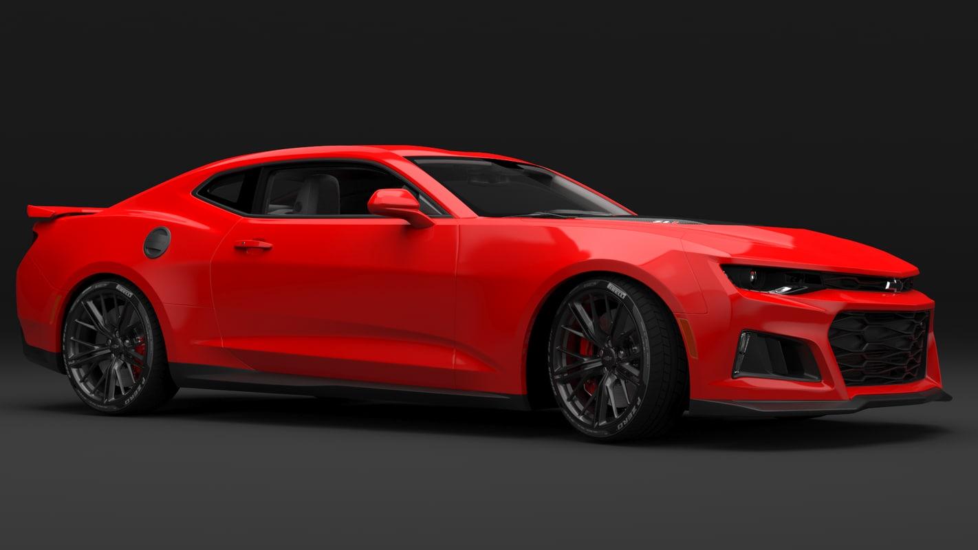 3D car interior model