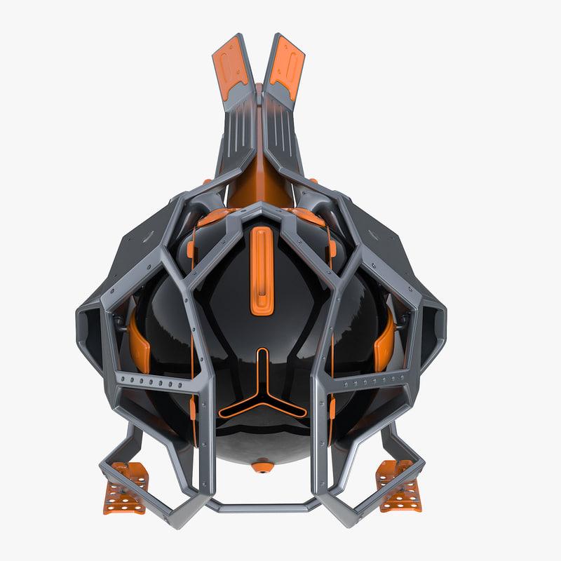 dron futuristic model