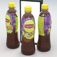 Beverage Bottle Lipton Tropical Ice Tea-500ml 2017
