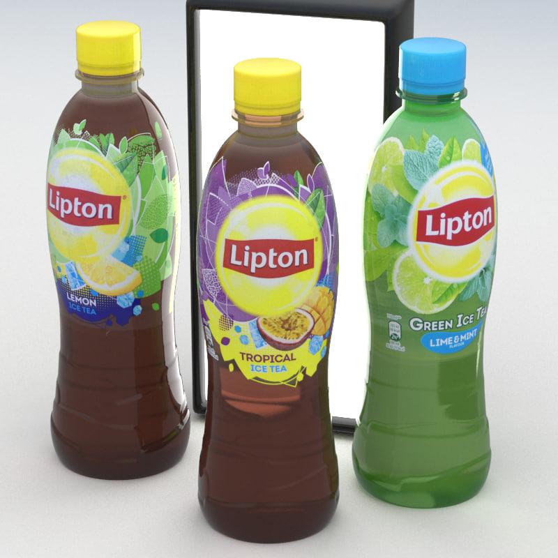 3D model lipton ice tea
