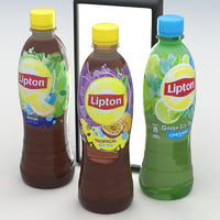 3D model lipton ice tea