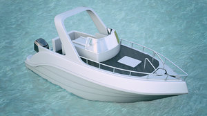 boat yacht 3D