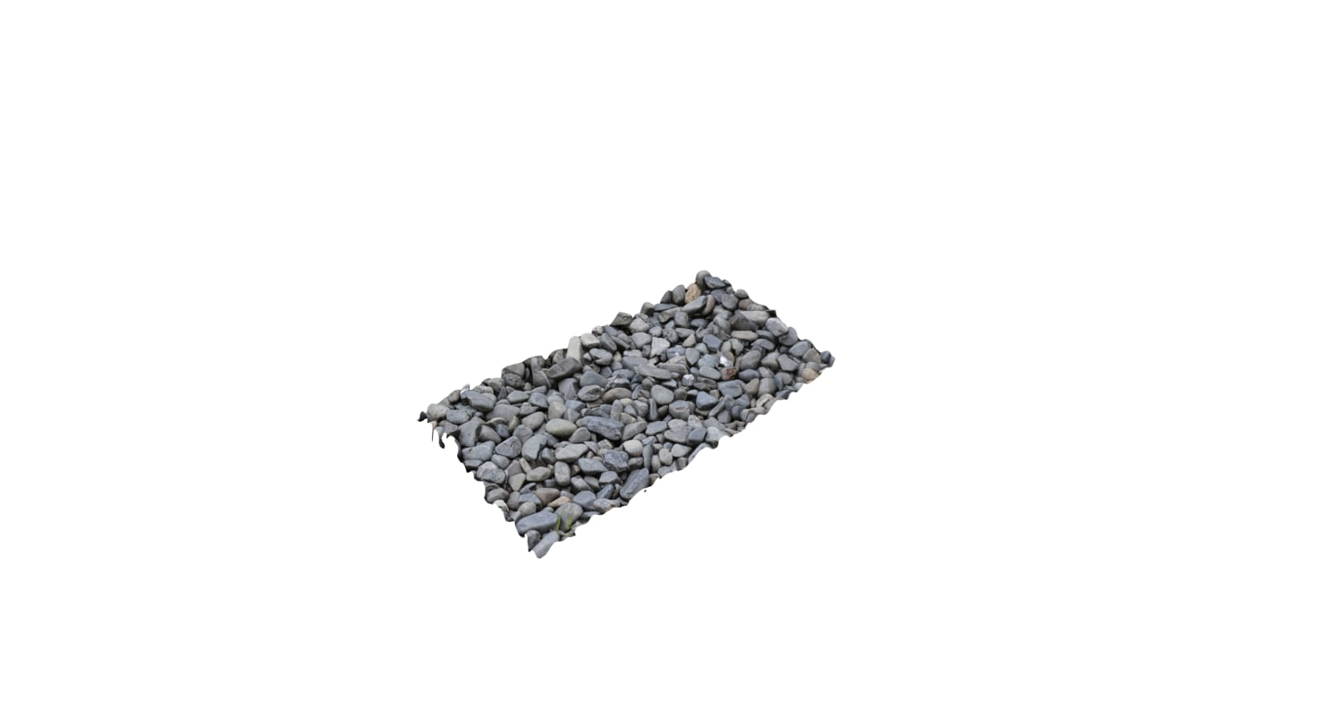 rocks photo 3D model