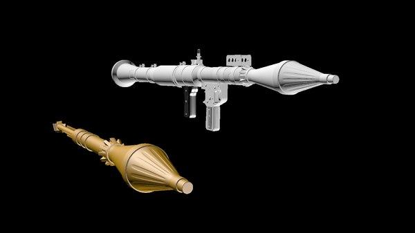 rpg-7 3D model
