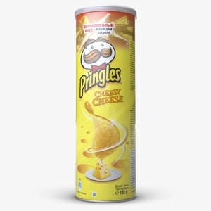 pringles chips cheesy cheese model