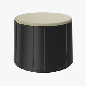 3D model knob 02 08
