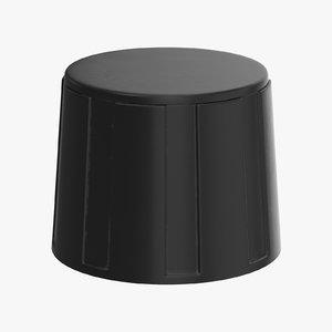 knob 02 09 3D model