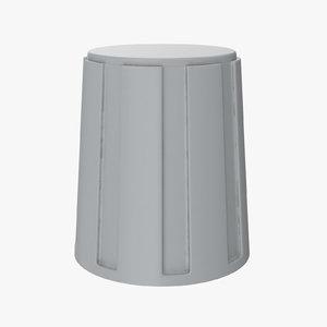 knob 02 11 3D model