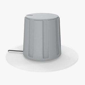 knob 02 18 3D model