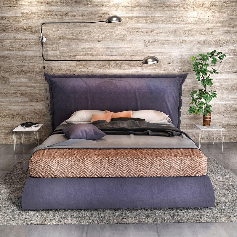 3D felis parker bed model