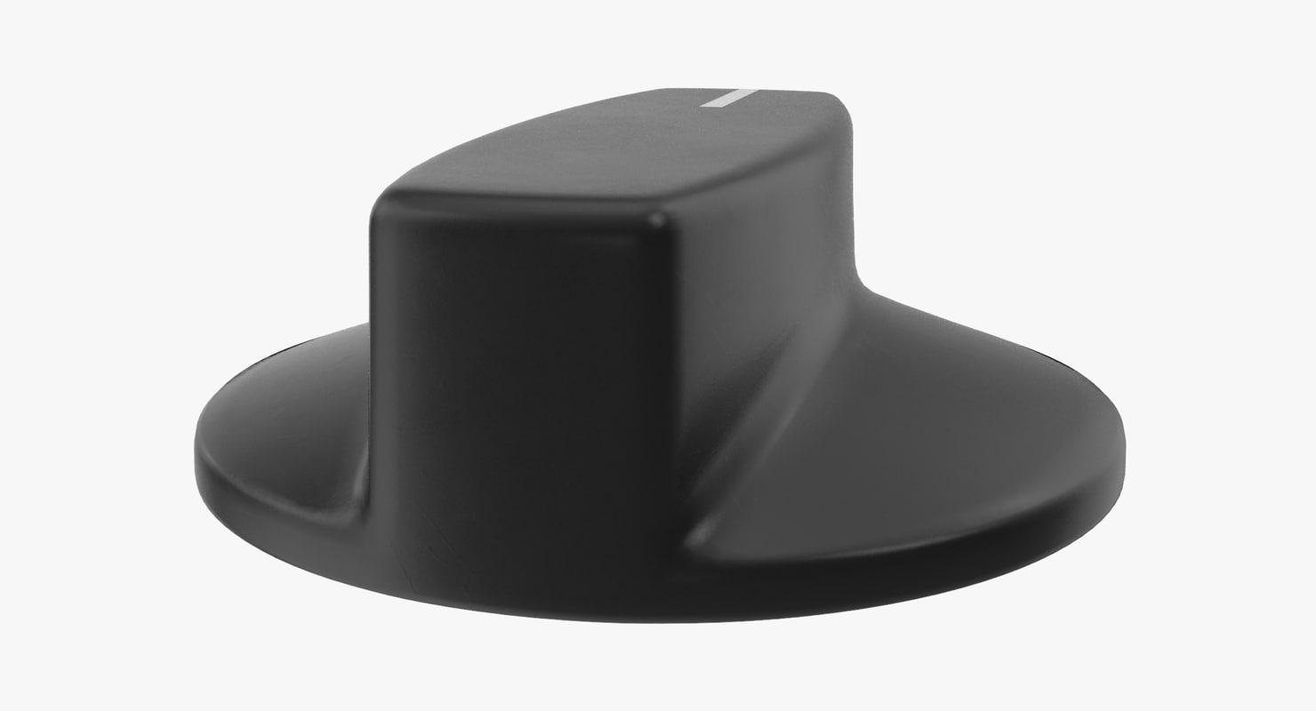knob 02 19 3D model