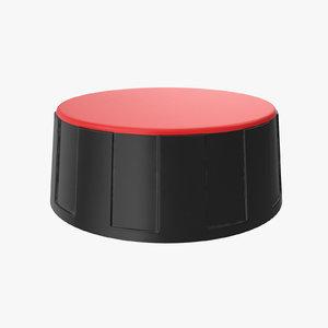 knob 02 26 3D model