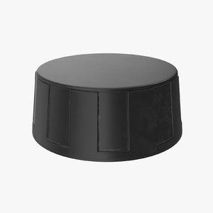 knob 02 28 3D model