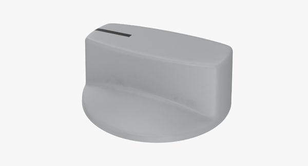 3D knob 02 31 model