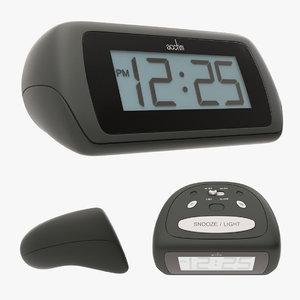 alarm clock 3D