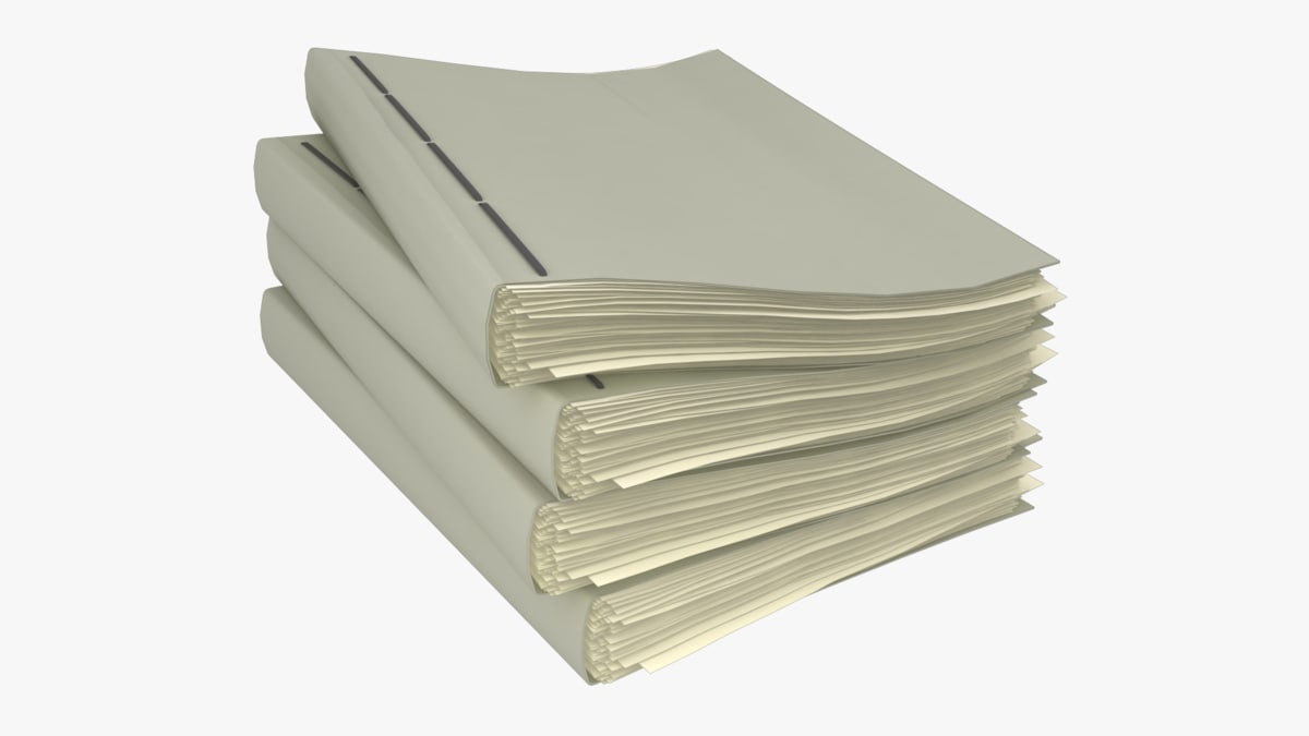 stack binders model