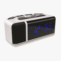 alarm clock bedside 3D model
