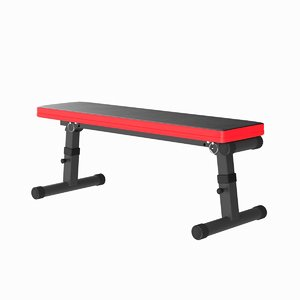 3D realistic sport bench