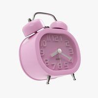 alarm clock desk 3D