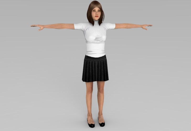 woman women model