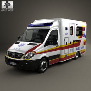 3D mercedes-benz sprinter 906
