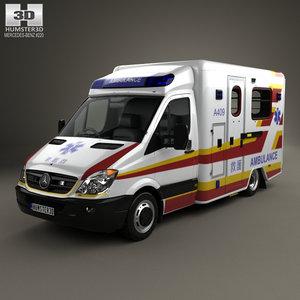 3D mercedes-benz sprinter 906