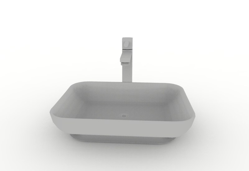 3D wash basin - sink