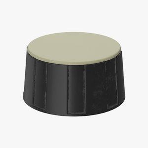 3D model knob 02 32