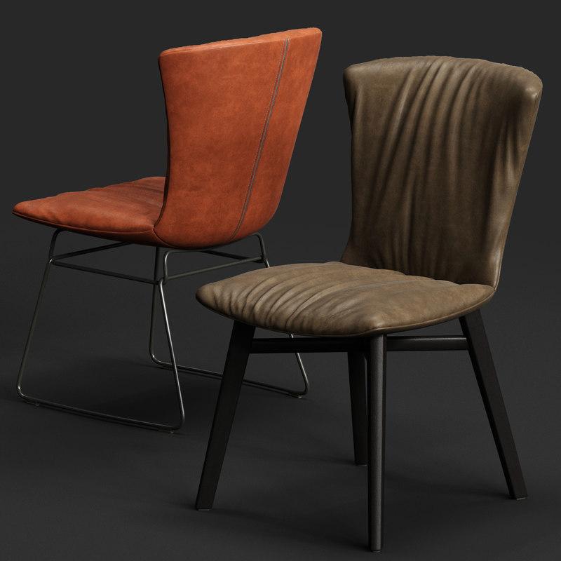 draenert dexter chair 3D model