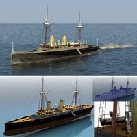 phoenix esmeralda ship 3D