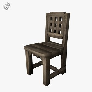 chair medieval model