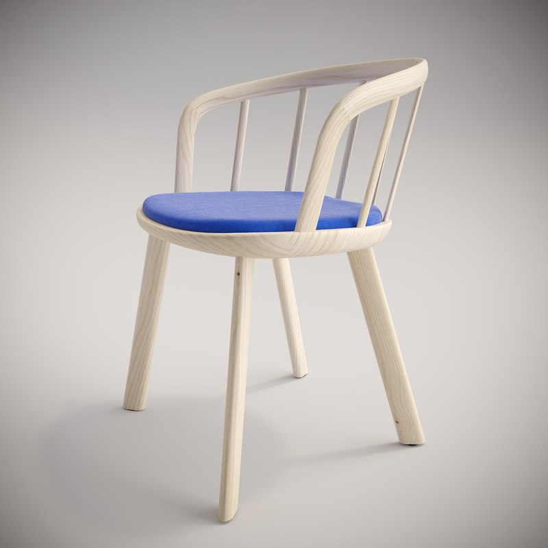 nym chairs 3D model
