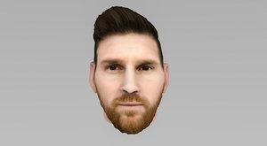 head messi model