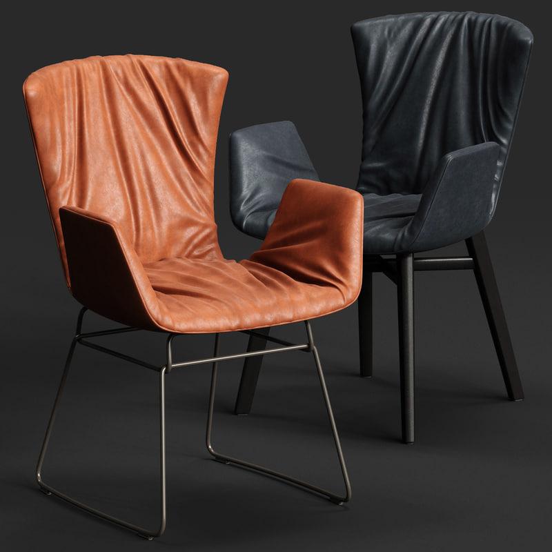 3D draenert dexter armchair