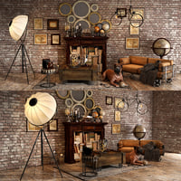 Loft decorative set