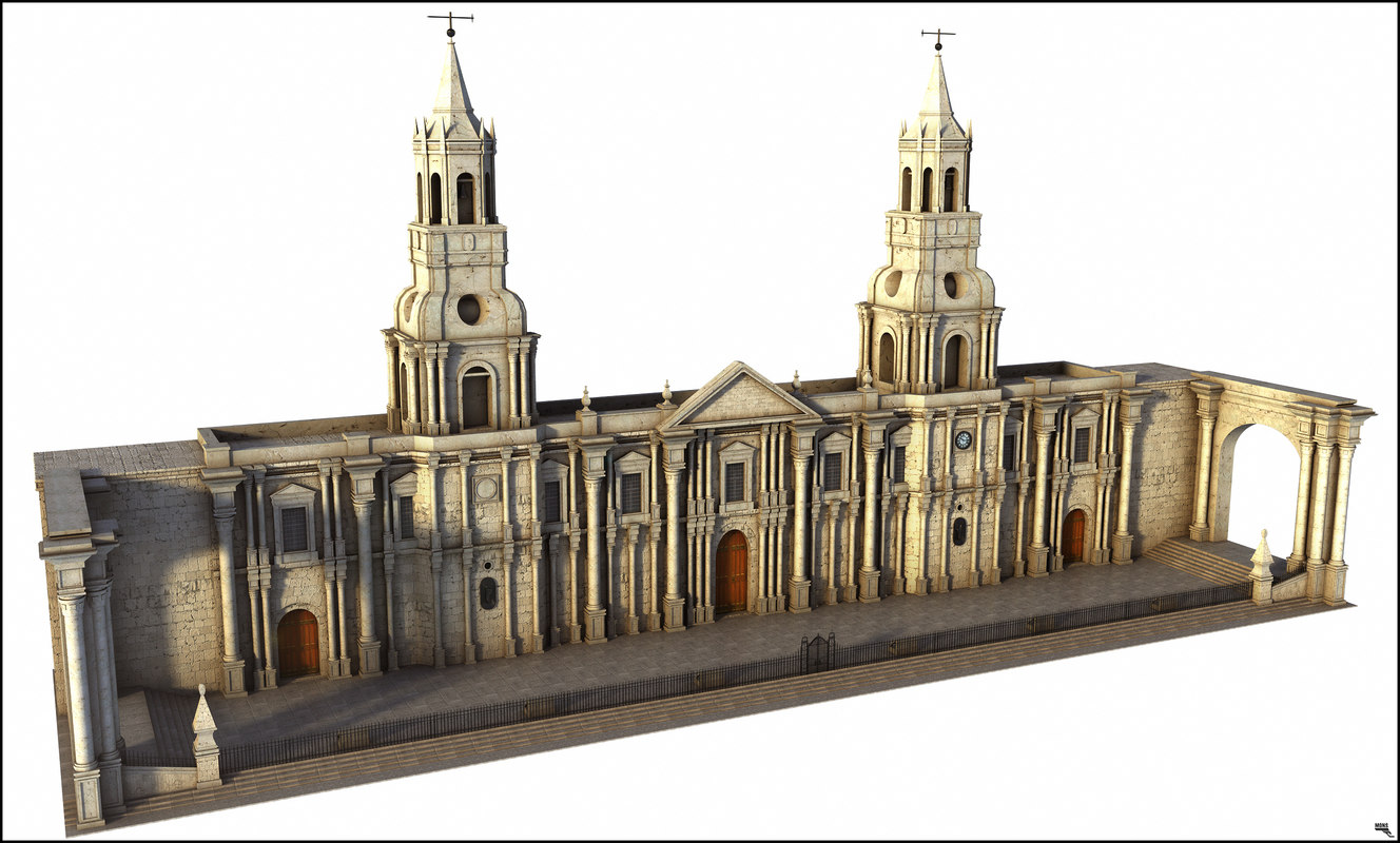 cathedral model