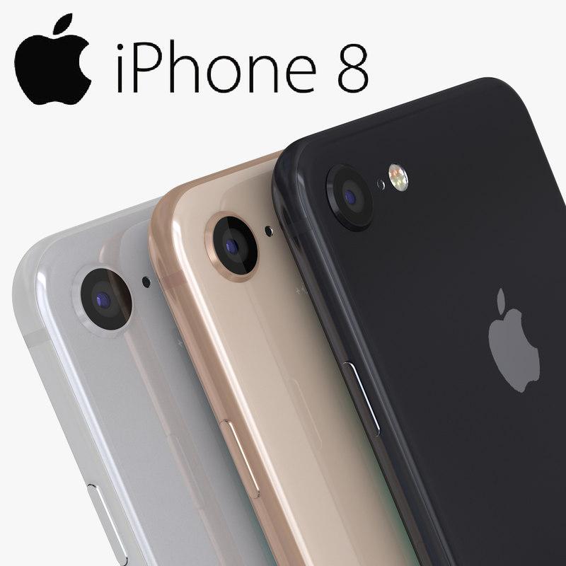 3D iphone 8