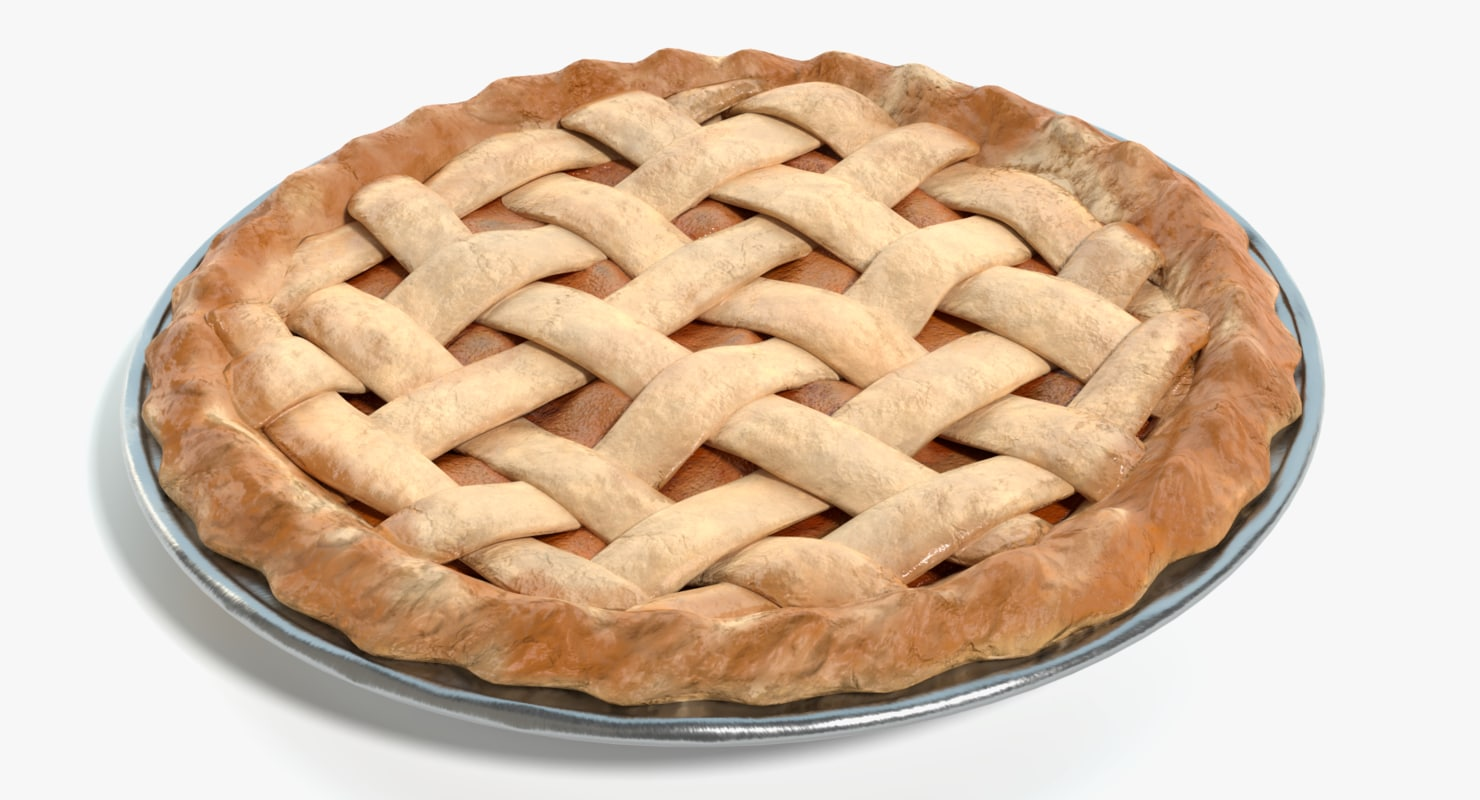 3D apple pie