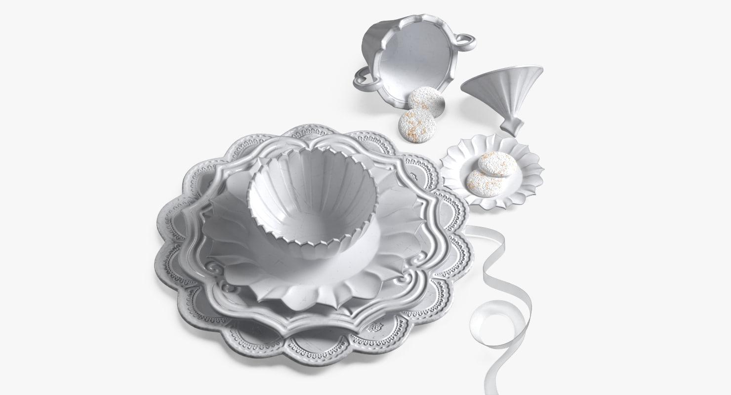 tableware set model